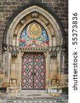 Decorated Door To The Gothic...