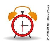 clock  icon. vector illustration | Shutterstock .eps vector #553739131