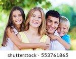 smile. | Shutterstock . vector #553761865