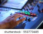 dj table | Shutterstock . vector #553773685