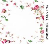 Floral Composition. Frame Made...