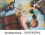 travel plan | Shutterstock . vector #553795291