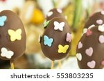 Detail Of Chocolate Easter Egg...