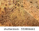 rust textures   | Shutterstock . vector #553806661