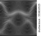black and white abstract line... | Shutterstock .eps vector #553810525