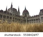 the hungarian parliament... | Shutterstock . vector #553842697