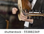 traditional instrument from... | Shutterstock . vector #553882369