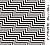 abstract geometric black and... | Shutterstock .eps vector #553895011