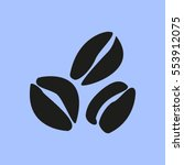 coffee vector icon | Shutterstock .eps vector #553912075