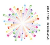 vector illustration of colorful ... | Shutterstock .eps vector #55391485