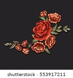 patch flowers 1 | Shutterstock .eps vector #553917211