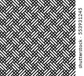 retro fabric seamless... | Shutterstock .eps vector #553931245