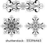 vector design ornament | Shutterstock .eps vector #55396465