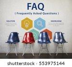 customer service faqs...   Shutterstock . vector #553975144