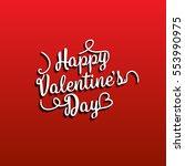 valentine's day | Shutterstock .eps vector #553990975