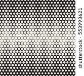 vector seamless pattern. modern ... | Shutterstock .eps vector #553993621