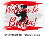 print with lettering about... | Shutterstock .eps vector #553994731