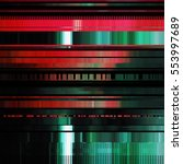 glitch abstract background with ... | Shutterstock .eps vector #553997689