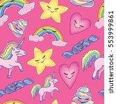 pattern seamless texture vector ... | Shutterstock .eps vector #553999861