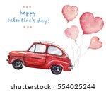 Watercolor Valentine's Day...