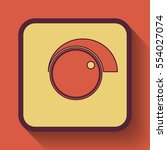 volume control icon  colored... | Shutterstock . vector #554027074