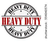heavy duty grunge rubber stamp...   Shutterstock .eps vector #554040574