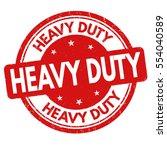 heavy duty grunge rubber stamp... | Shutterstock .eps vector #554040589