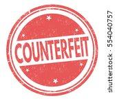 counterfeit grunge rubber stamp ... | Shutterstock .eps vector #554040757