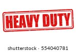 heavy duty grunge rubber stamp... | Shutterstock .eps vector #554040781