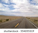 Endless Road In The Us Southwest