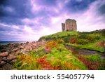 Coastal Landscape Along The...