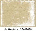 texture of the old paper | Shutterstock . vector #55407490
