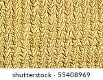 golden crumpled textile texture ... | Shutterstock . vector #55408969