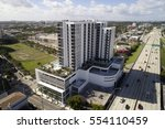 Small photo of MIAMI - JANUARY 10: Aerial image of District 36 which is a midrise condominium located at 3635 NW 1st Avenue completed in 2016 January 10, 2017 in Miami FL, USA