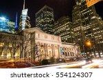 New York City  Usa. February...