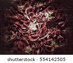 flower background and texture  | Shutterstock . vector #554142505