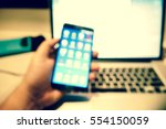 picture blurred  for background ... | Shutterstock . vector #554150059