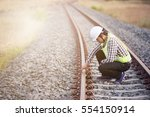 Railroad Workers Checking...