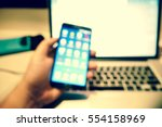 picture blurred  for background ... | Shutterstock . vector #554158969