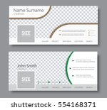 set of banners for the standard ... | Shutterstock .eps vector #554168371