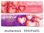 two sale header or banner with... | Shutterstock .eps vector #554191651