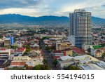 san jose costa rica capital... | Shutterstock . vector #554194015