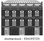 building elevation | Shutterstock .eps vector #554195725