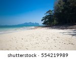 paradise beaches of the andaman ... | Shutterstock . vector #554219989
