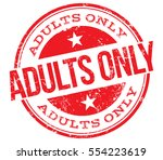 adults only stamp