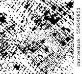 vector abstract graphic black... | Shutterstock .eps vector #554240851