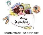 vector illustration good... | Shutterstock .eps vector #554244589