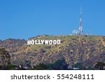 hollywood california   january... | Shutterstock . vector #554248111