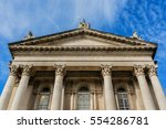 architectural building fragment ... | Shutterstock . vector #554286781