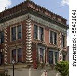 facade of old historic building | Shutterstock . vector #55431841